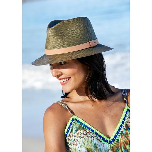 Fedora en paille Bailey of Hollywood Le chapeau fedora des stars hollywoodiennes. Par Bailey of Hollywood. Chapelier depuis 1922.