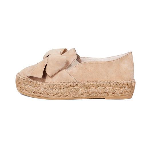 Espadrilles à nœuds Macarena® La chaussure phare de la saison – par un spécialiste avec 40 années de savoir-faire. Fabriqué en Espagne.