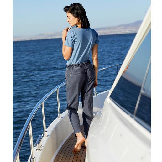 Le T-shirt SunSelect®, pour femme Stylé, toucher agréable et effet comparable à une bonne crème solaire.