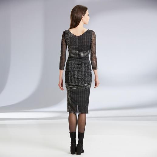 Robe spéciale sac à main Fuzzi « Tweed » La robe de créateur qui se glisse dans votre sac à main. À porter en toute occasion. Par Fuzzi, Italie.