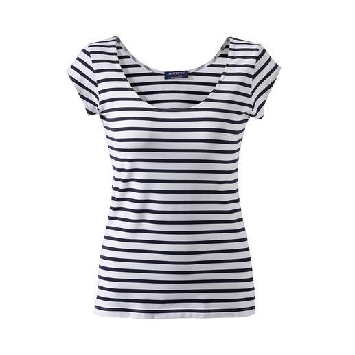 Marinière microfibre Le shirt favori chez Saint James depuis plus de 15ans. La marinière en Meryl®.