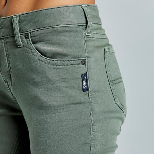 Jean jersey Silver® L'aspect authentique d'un jean. La sensation d'un pantalon de yoga. Signée Silver®, Canada.