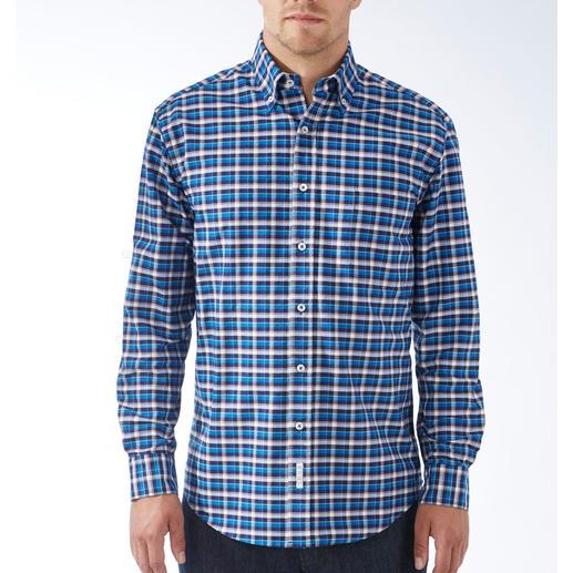The BDO-Shirt No.48, àcarreaux Redécouvrez une bonne vieille sensation de confort. Et oubliez qu'une chemise doit être repassée.