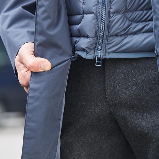 Veste technique longue Swims Très peu sont aussi stylées : la veste technique respirante et imperméable pour toute l'année.