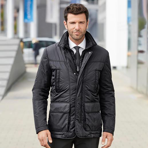 Veste technique homme Geox La veste technique qui « respire » – dotée du célèbre système d'aération breveté de Geox. Allure moderne.