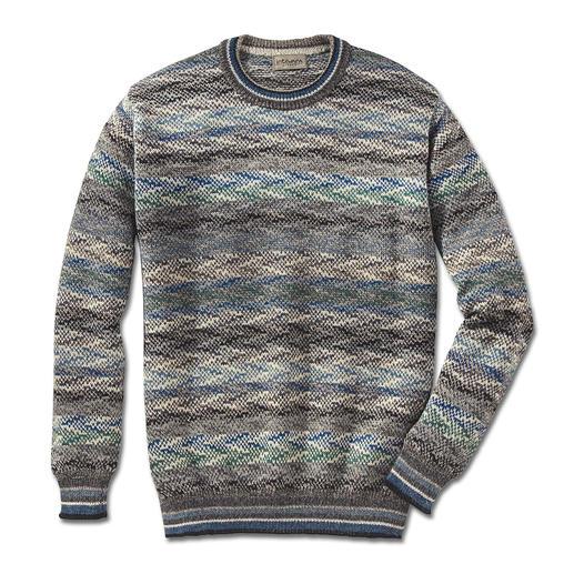 Pullover en alpage Intiwara Rare tricot artisanal venant des Andes. Et non pas de la production de masse d'Extrême-Orient.
