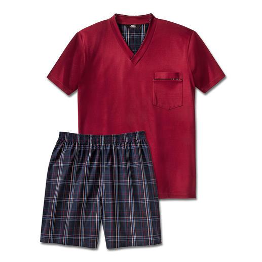 Pyjama préféré No. 27 Votre pyjama préféré. Pur coton, travaillé avec soin, made in Germany.