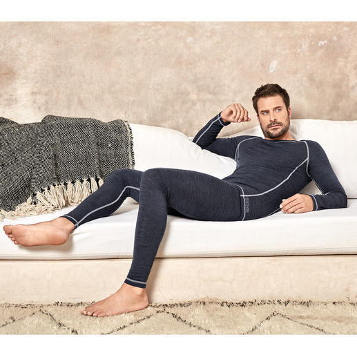 Sous-vêtements Active-Wool Skiny - Sous-vêtements parfaits pour tous les jours, tout au long de l'année. De Skiny, Autriche.