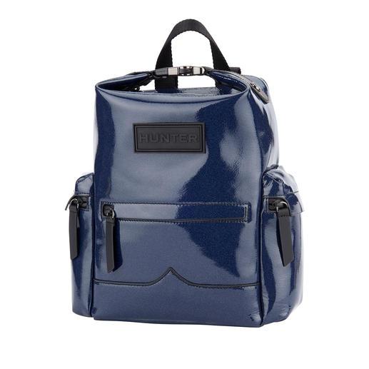Sac à dos Hunter, pour femme L'accessoire favori des festivaliers : le sac à dos en cuir imperméable de Hunter.