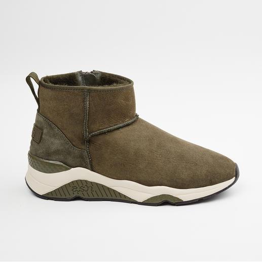 Boots en fourrure d'agneau Ash 100 % mode, 100 % hivernales : les boots en fourrure d'agneau par Ash.