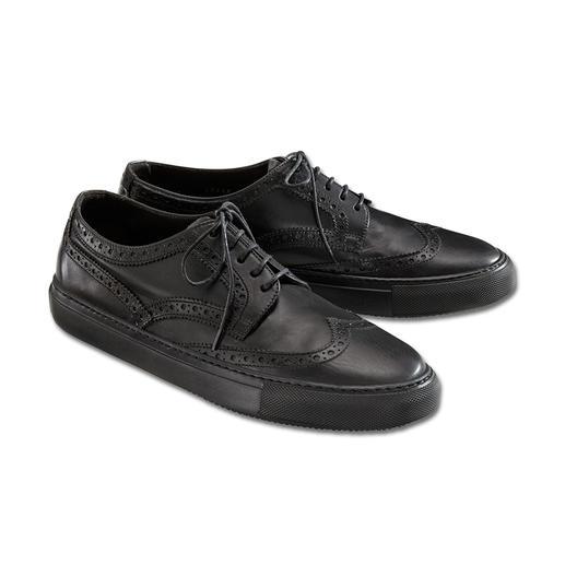 Brogues Fratelli Rossetti - Chaussures en cuir veau d'une douceur incomparable, association réussie de divers styles. De Fratelli Rossetti.