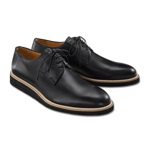 Derbys Piaceri Aussi soignés que des chaussures classiques pour le bureau. Mais plus confortables et plus modernes.