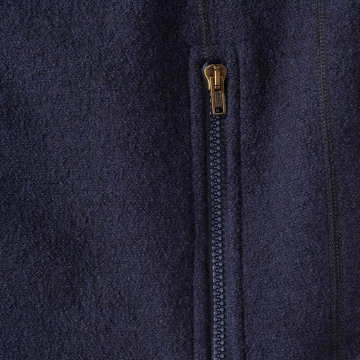 Veste en laine foulée Key West, homme De la laine foulée aussi légère que la polaire : en laine mérinos fine et extra fine. Par Key West, Copenhague.
