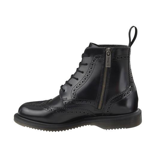Brogue Boots Dr. Martens Dr. Martens original, chaussure culte de 1960 – au look d'aujourd'hui. Conception féminine. Perforation Lyra.