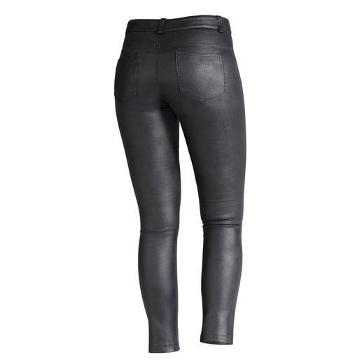 Pantalon « faux cuir » Janice & Jo Le pantalon de luxe en faux cuir. De Janice & Jo, France. L'aspect du cuir véritable à s'y méprendre.