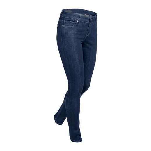 Jean business Strenesse Un jean au bureau ? Très peu sont vraiment acceptables. Coupe soignée. Ligne ajustée. Par Strenesse.