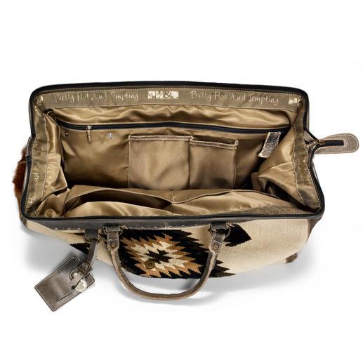 Sac de voyage kilim L'alternative stylée aux tristes sacs de voyage. Par le label ethnique néerlandais PH&T.