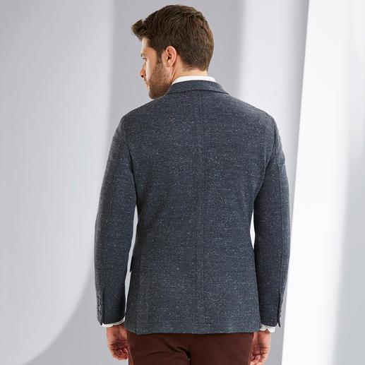 Veston en jersey façon tweed Donegal Hackett Bien plus élégant de par sa confection et son aspect façon tweed de laine. Par le spécialiste Hackett London.