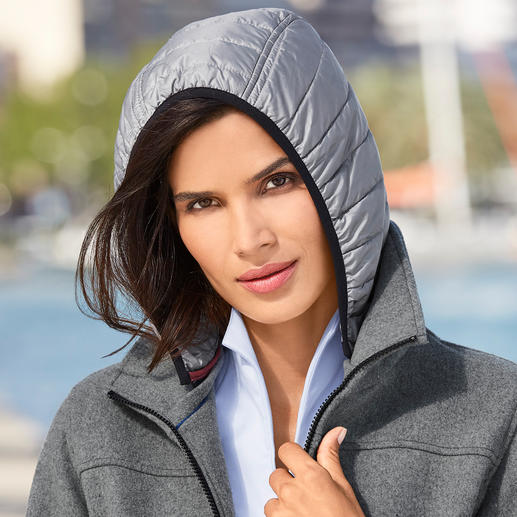 Parka en loden Sailors & Brides Bien plus noble que les vestes fonctionnelles typiques. Par le spécialiste de la voile, Sailors & Brides.