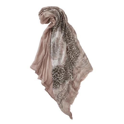Foulard Carré Plomo o Plata Tendances actuelles et classiques en parfaite harmonie. Le foulard carré du label d'accessoire Plomo o Plata.