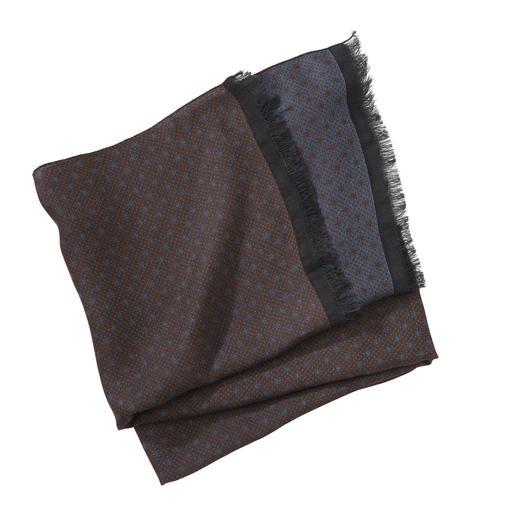 Foulard à pois Pellens & Loick Motif discret. Couleurs faciles à associer. Le foulard pour toute l'année. Pellens & Loick.