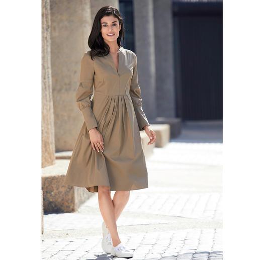 Robe en popeline de coton Strenesse Ni ennuyeux, ni trop criard : la robe en popeline de coton de Strenesse est tout à fait tendance.