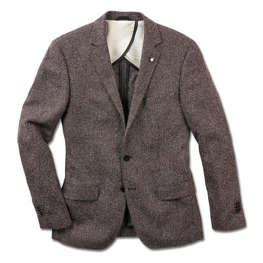 Veston en tweed estival Lagerfeld Le tweed – désormais en version légère et estivale. Léger et moderne grâce à la soie et au coton. De Lagerfeld.