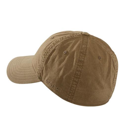 Casquette de base-ball Stetson Bien plus typée que beaucoup d'autres: la casquette de base-ball de Stetson.