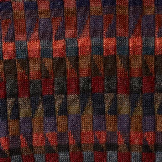 Le pull-over en alpaga « Mosaiko »