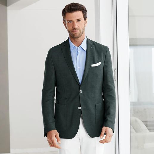 Veste estivale Cross-Ply Carl Gross Votre veste légère probablement la plus noble : aussi soignée qu'un blazer classique mais beaucoup plus aérée.