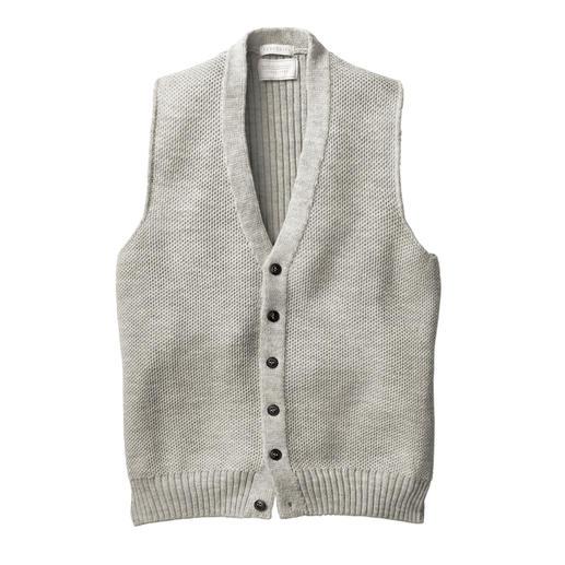 Gilet Peregrine Lorsque l'art du tricot traditionnel rencontre le design moderne. Par la maison Peregrine, depuis 1796.