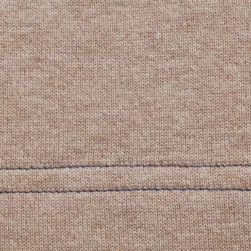 Gilet réversible en tricot Alan Paine Côté pile détente – côté face classique.