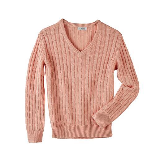 Pullover tressé en lin Carbery Tricoté à partir d'un lin aéré : le pullover tressé au style estival. Fabriqué en Irlande. De Carbery.