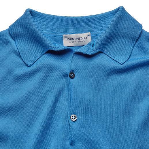 Polo Sea-Island John Smedley Rare tricot fin en jauge 30. Le meilleur coton Sea Island. Par John Smedley, Angleterre.