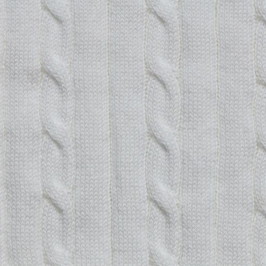 Pull tressé en coton Pima Carbery Coton pima de qualité. Motif tressé sportif. Coupe féminine cintrée. Du tricoteur irlandais Carbery.