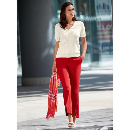 Pantalon Red Seductive Doux et non grattant grâce à la laine « Blended Wool ». Confortablement élastique. Résistant.