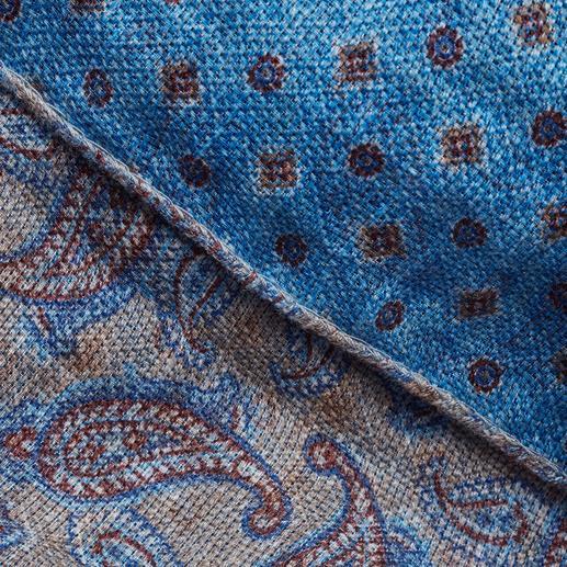 Châle Double Print Pellens & Loick Aéré grâce au lin enrichi de coton. Facile à associer grâce au double-imprimé artistique. De Pellens & Loick.