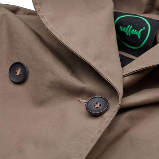 Manteau Raffauf Outdoor-Couture Un manteau d'extérieur au caractère raffiné. Élégant tout en étant imperméable, coupe-vent et respirant.