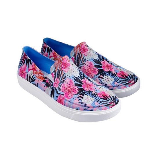 Chaussures Crocs, femme Super douces, amortissant en douceur et même adaptées en eau salée. Les chaussures à enfiler de Crocs™/USA.