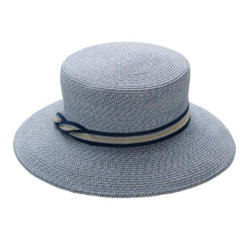 Chapeau tressé Mayser Enfin, un chapeau d'été qui peut être écrasé et insensible aux séjours en valise. Par Mayser.