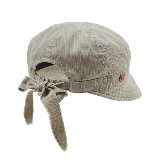 Casquette pour femme Mayser La preuve qu'une casquette en coton peut être aussi féminine ! De Mayser.