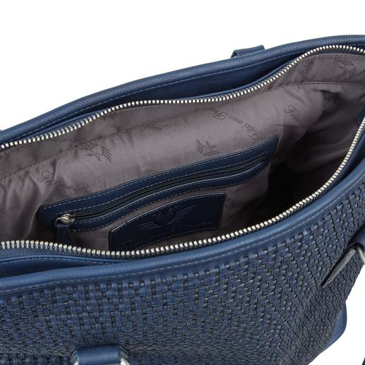 Sac à roulette Fritzi aus Preußen Toujours élégant. Suffisamment grand. Jamais trop lourd. Le Shopper-Bag XL avec fonction trolley dissimulée.