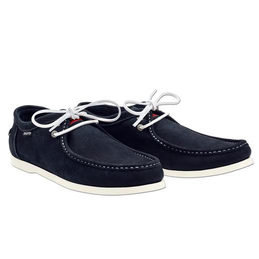 Mocassins lavables en suède Snipe Nettoyer vos chaussures ? Confiez cette tâche à votre lave-linge. Les mocassins en suède de Snipe®.