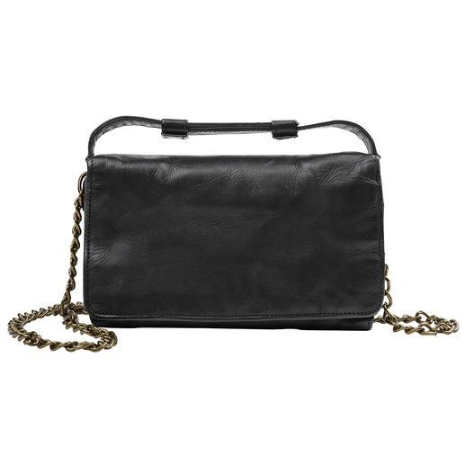 Mini Bag 2 en 1 Desiderius Malette vintage en journée. Sac à bandoulière décontracté en soirée. Du spécialiste allemand des sacs Desiderius.