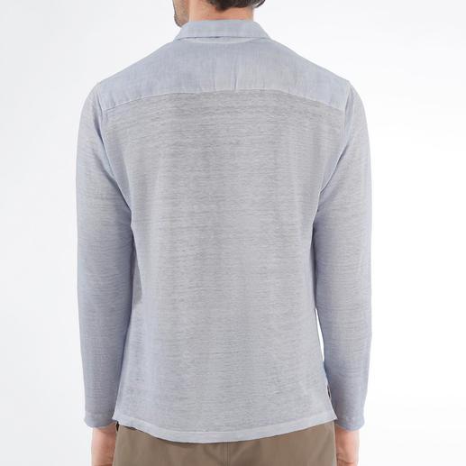Chemise confort en lin Toujours aussi aérée. Étonnamment confortable.