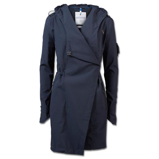 Manteau en softshell Sailors & Brides Le manteau en softshell respirant, imperméable et coupe-vent. Par Sailors & Brides.