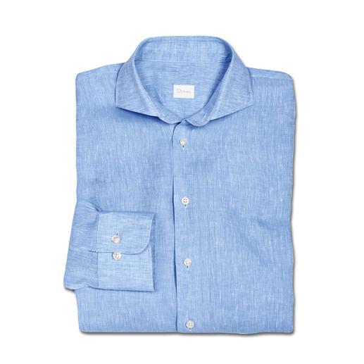 Chemise d'affaire en lin Dorani Aérée sans être décontractée : la chemise d'affaire en lin fin de Belgique. Du spécialiste des chemises Dorani.