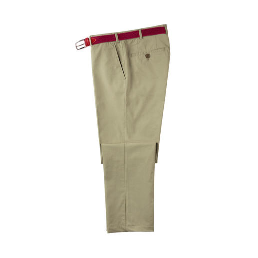 Pantalon de voyage Nano Le pantalon de voyage idéal : étonnantes propriétés antitache, ne nécessite aucun repassage.