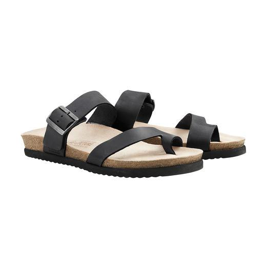 Sandale en liège Soft-Air Mephisto Marcher comme sur de la mousse. Sans fatiguer. Confortable dès le premier jour.