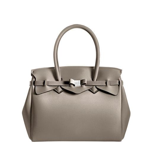 Sac ultraléger Look classique, matériau innovant : ce sac à main ultra léger ne pèse que 380 g. Par le label Save My Bag.